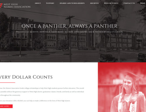 West High Alumni Association launches new website
